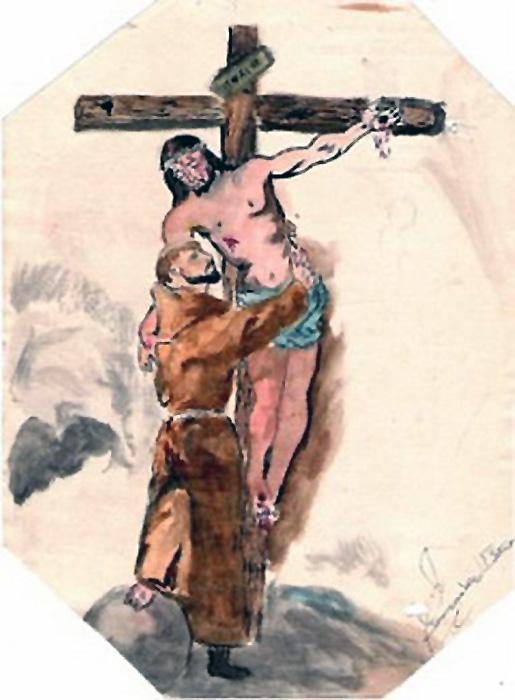 Dibujo Para Colorear De San Miguel Arcangel | Black Hairstyle and